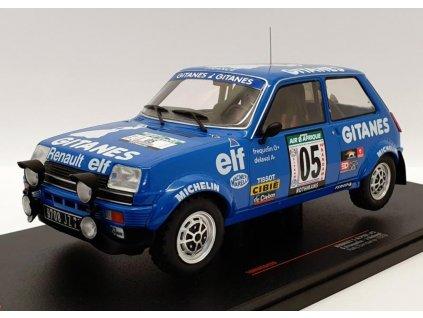Renault 5 Alpine #5 Rallye Bandama 1978 1 18 IXO 18RMC043B 01