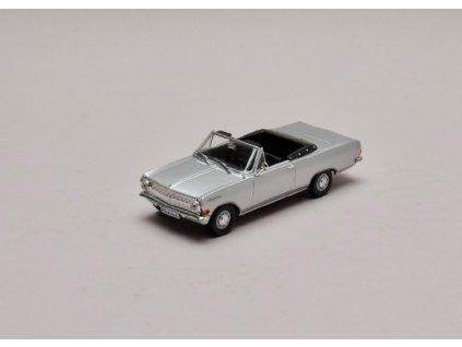 Opel Rekord A 1963 1965 stříbrná Clare MacKichan 1 43 Champion 01