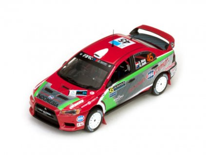 Mitsubishi Lancer EVO X #45 Rally Acropolis 2012 1 43 Vitesse 43447 03