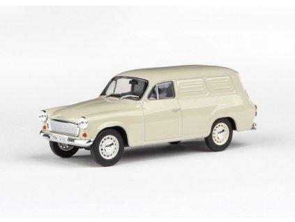 Škoda 1202 1965 Dodávka šedá 1 43 Abrex 143ABS 729CQ 01