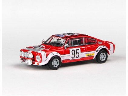 Škoda 200RS 1974 #95 Rallye Jeseníky 1975 1 43 Abrex 143XABS 502TL 01