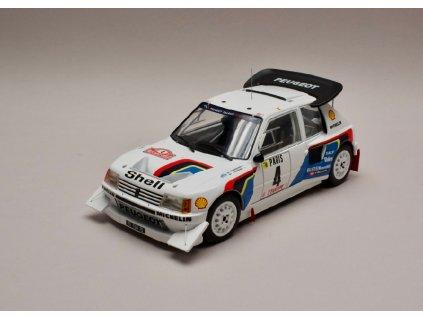 Peugeot 205 T16 E2 #4 Rallye Monte Carlo 1986 1 18 IXO 18RMC049B 01