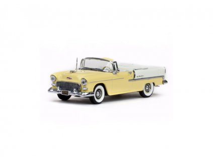 Chevrolet Bal Air 1955 Open Convertible Harvest Gold 1 43 Vitesse 36297 01