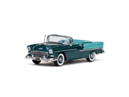 Chevrolet Bal Air 1955 Open Convertible Neptune Green 1 43 Vitesse 36296 01