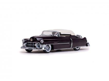 Cadillac Eldorado 1953 Convertible Closed Maron 1 43 Vitesse 36266 01