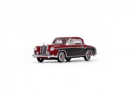 Mercedes Benz 220SE Coupe 1958 Red Black 1 43 Vitesse 28667 01