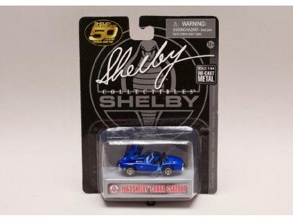Shelby Cobra CSX 2000 1962 modrá 1 64 Shelby Collectibles 01