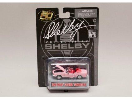 Shelby GT500 KR 1968 Convertible růžová 1 64 Shelby Collectibles 01