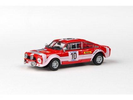 Škoda 200RS 1974 #10 Rallye Škoda 1974 1 43 Abrex 143XABS 502TB 01