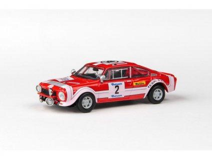 Škoda 200RS 1974 #2 Rallye Barum 1974 1 43 Abrex 143XABS 502TE 01
