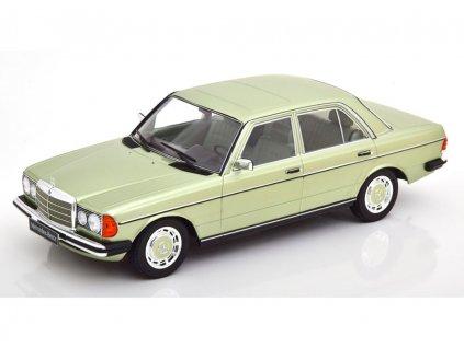 Mercedes 280E W123 1977 zelená metalíza 1 18 KK scale KKDC 180353 01