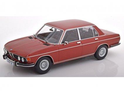 BMW 3.0S E3 2.Series 1971 červeno hnědá metalíza 1 18 KK scale KKDC 180402 01