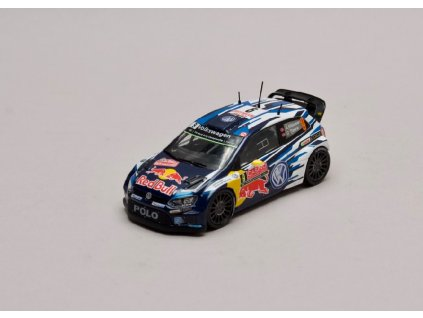VW Polo R WRC #9 Rally Monte Carlo 2015 1 43 Champion 01