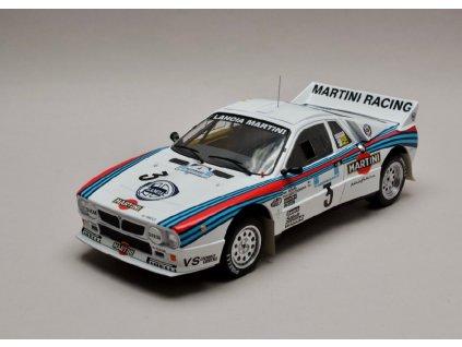 Lancia 037 Rally #3 Rally Acropolis 1983 Martini 1 18 IXO 18RMC054A 01
