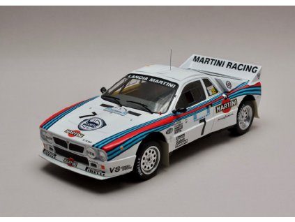 Lancia 037 Rally #7 Rally Acropolis 1983 Martini 1 18 IXO 18RMC054C 01