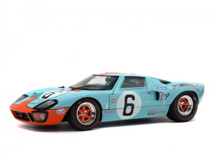 Ford GT40 MK1 #6 Winner 24h LeMans 1969 1 18 Solido S1803003 01