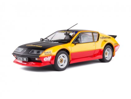 Renault Alpine A310 Pack GT 1983 Calberson Evocation 1 18 Solido S1801204 01