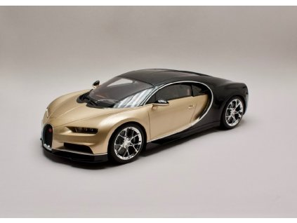 Bugatti Chiron 2016 gold black %22resin series%22 1 12 Kyosho KSR08664 02