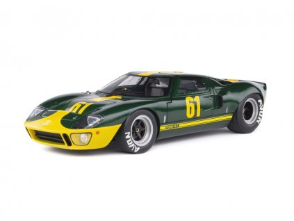 Ford GT40 MK1 #61 Jim Clark 1966 Ford Performance Collection 1 18 Solido 1803004 01