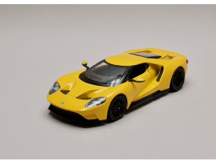 Ford GT 2017 žlutá 1 24 Welly 24082 01