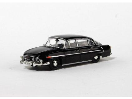 Tatra 603 1969 černá černý interier 1 43 Abrex 143ABS 401D 01