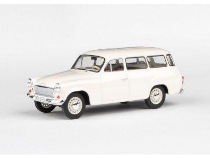 Škoda 1202 1964 bílá 1 43 Abrex 143ABS 728EI 01