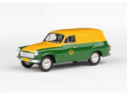 Škoda 1202 1965 Pojízdná Prodejna 1 43 Abrex 143ABS 729FA02 01