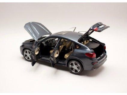 BMW X4 F26 2015 Sophisto grey 1 18 Paragon 80432352461 05