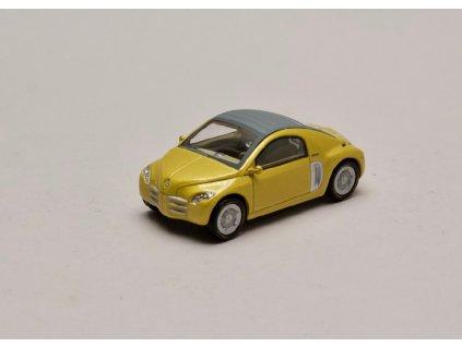Renault Fiftie Concept Car 1996 žlutá metalíza 1 43 Norev 01