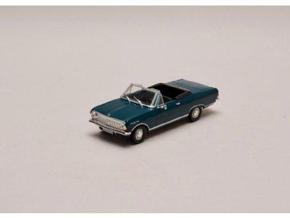 Opel Rekord A 1963 Cabrio tmavě zelená 1 43 Car Selection 01