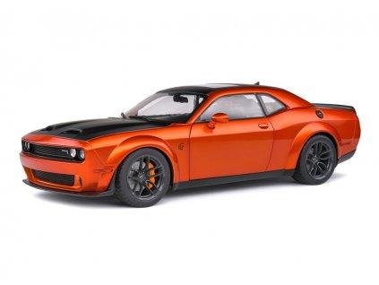 Dodge Challenger SRT 2020 Hellcat Redeye Widebody oranžová 1 18 Solido 1805703 01