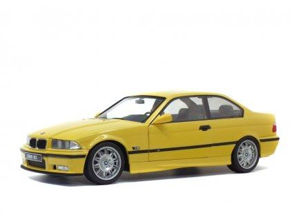 BMW M3 (E36) Coupé 1994 žlutá Dakar 1 18 Solido 1803902 01