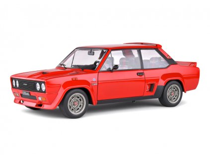 Fiat 131 Abarth 1980 červená 1 18 Solido 1806002 01