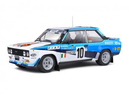 Fiat 131 Abarth #10 Winner Rallye Monte Carlo 1980 1 18 Solido S1806001 01