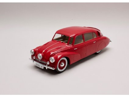 Tatra 87 1937 tmavě červená 1 18 MCG 01
