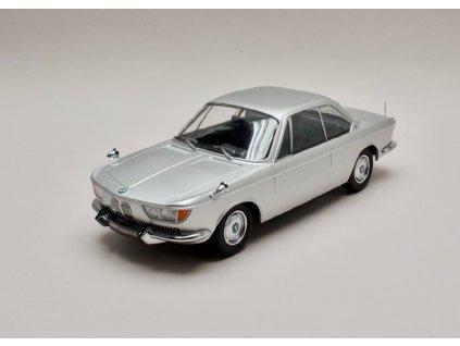 BMW 2000 CS 1965 stříbrná 1 18 KK scale 180123 01