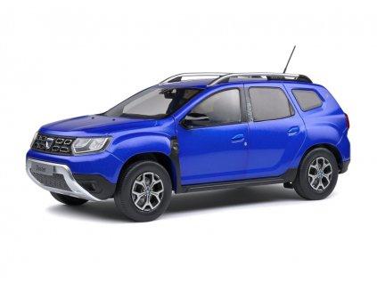 Dacia Duster MK2 2018 modrá Cosmos 1 18 Solido 1804604 01