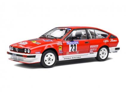 Alfa Romeo GTV6 #23 5th Tour de Corse 1985 1 18 Solido 1802306 01