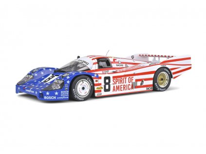 Porsche 956 LH #8 3rd 24h LeMans 1986 1 18 Solido 1805503 01