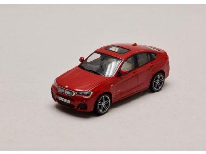 BMW X4 2015 červená (F26) 1 43 Herpa 80422348789 01