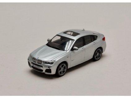 BMW X4 2015 stříbrná (F26) 1 43 Herpa 80422348787 01