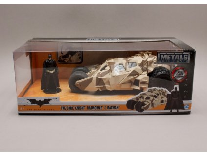 Batmobile 6 %22The Dark Knight %22 2008 + figurka maskovací zobrazení 1 24 Jada Toys 98543 01