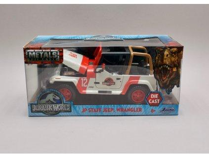 Jeep Wrangler 1992 %22Jurský svět %22 1 24 Jada Toys 97806 01