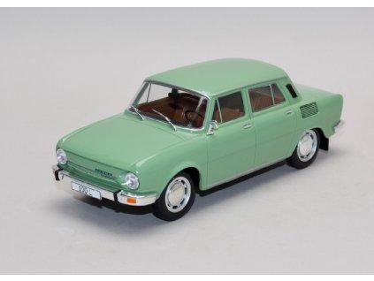 Škoda 100 L zelená 1 24 WhiteBox 124062 01