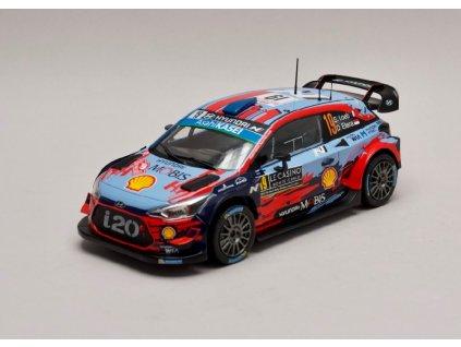 Hyundai i20 Coupe WRC #19 4th Rallye Monte Carlo 2019 1 24 IXO 24RAL002B 01