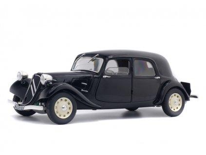 Citroen Traction 11CV rok 1937 černá 1 18 Solido 1800903 01