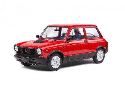 Autobianchi A112 Abarth MK5 1980 1 18 Solido červená 1803802 01