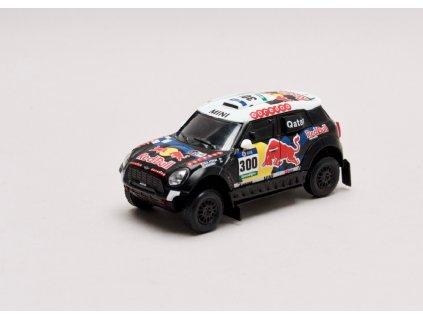 Mini all4 Racing #300 Rally Dakar 2016 1 43 Magazine models 01