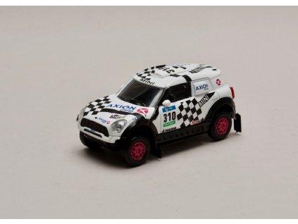 Mini all4 Racing #310 Rally Dakar 2016 1 43 Magazine models 01