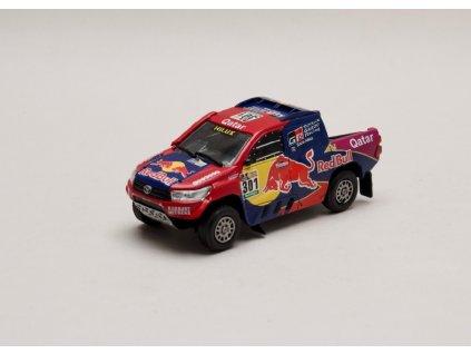 Toyota Hilux V8 #301 Rally Dakar 2017 1 43 Magazine models 01
